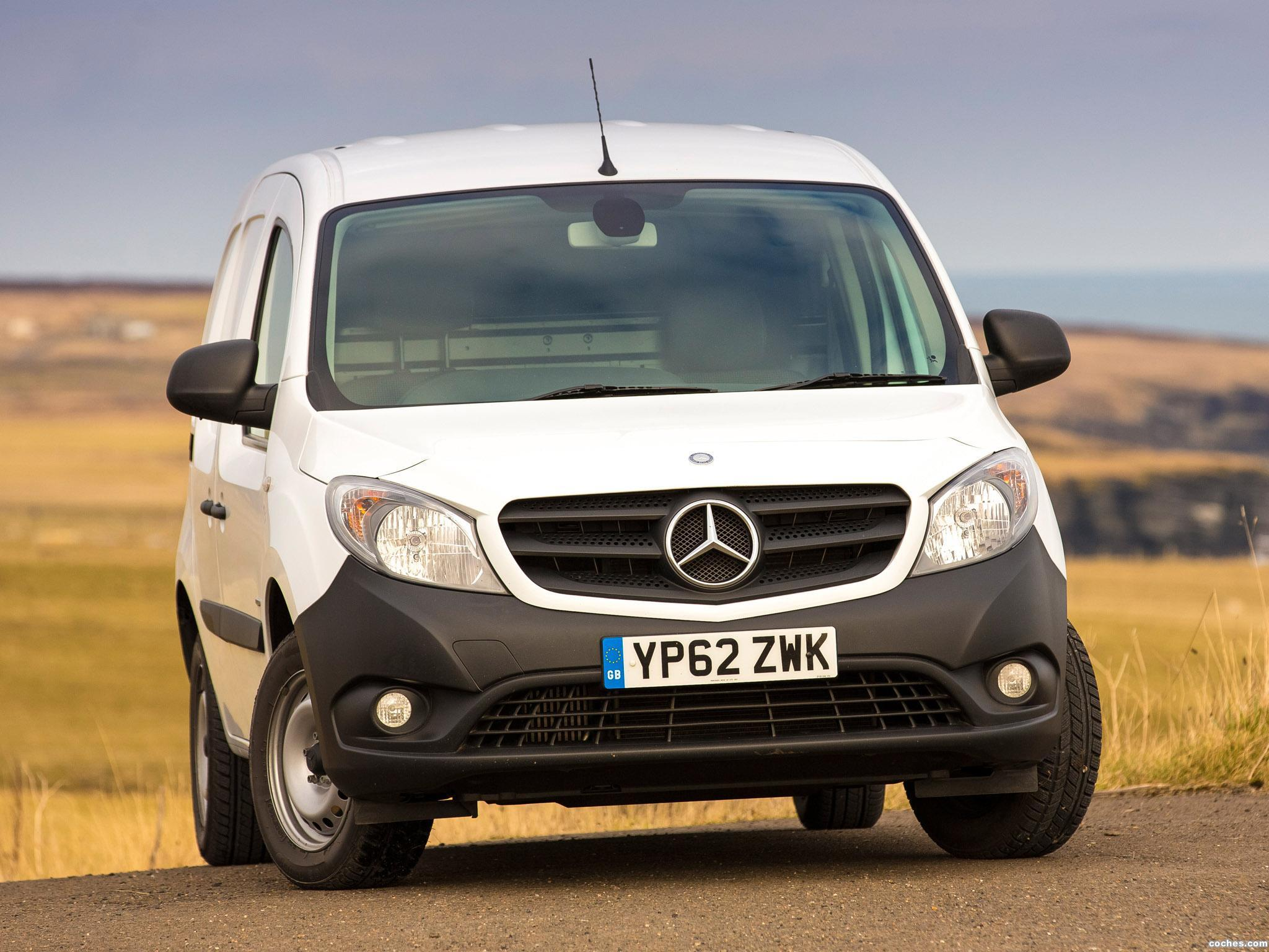Foto 4 de Mercedes Citan Van UK 2013