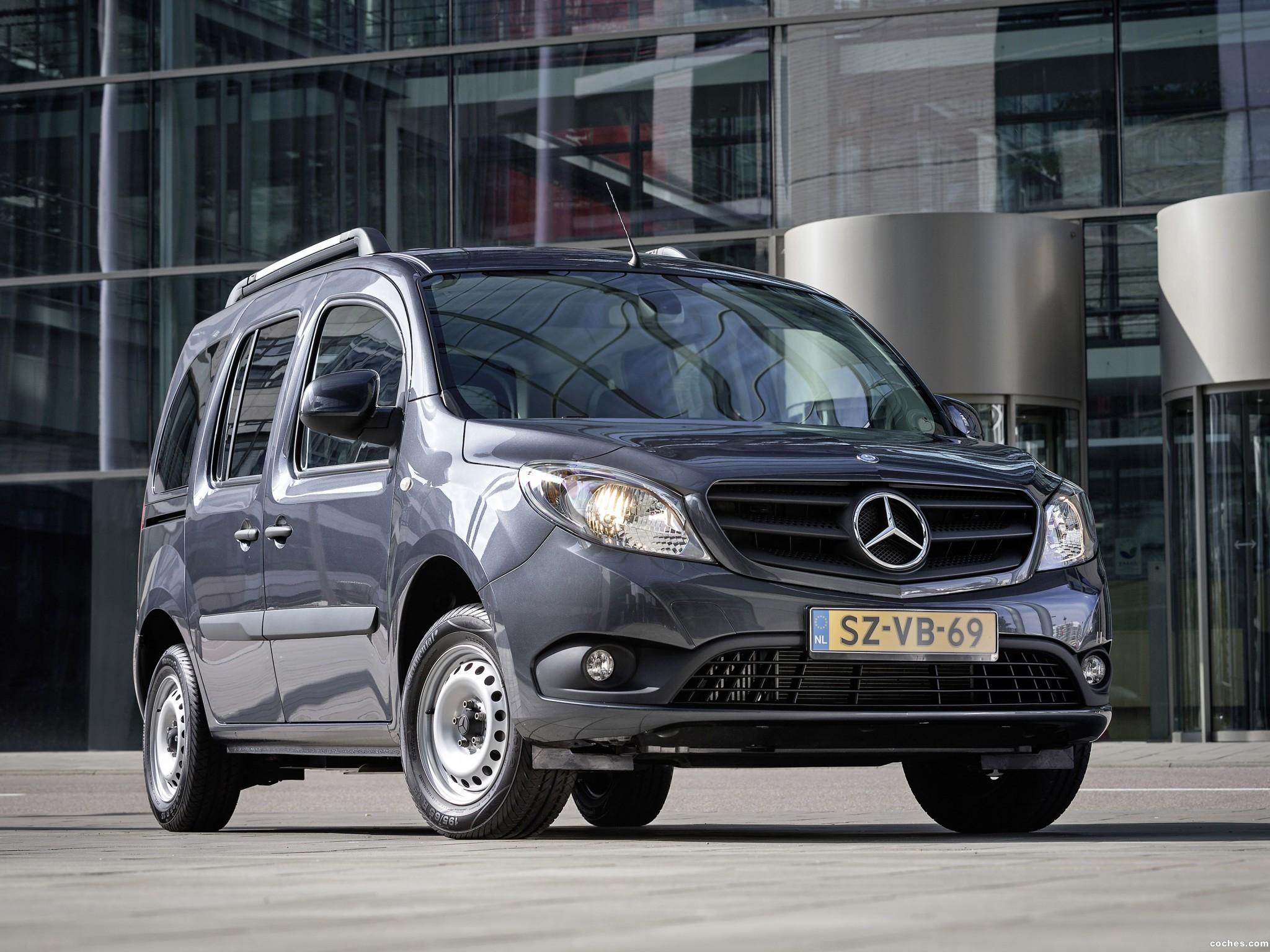 Foto 0 de Mercedes Citan Wheelchair W415  2013