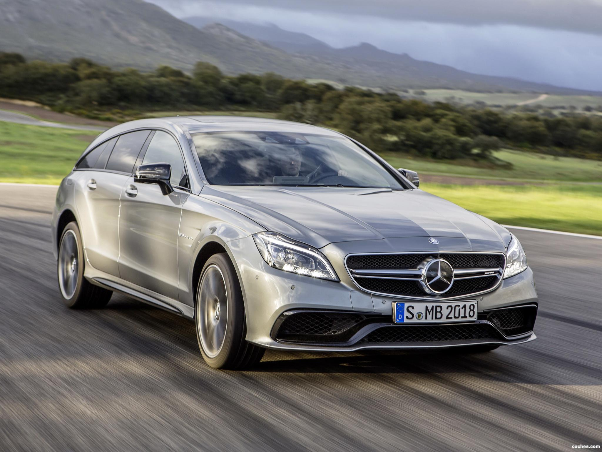 Foto 0 de Mercedes CLS Shooting Brake 63 AMG X218 2014