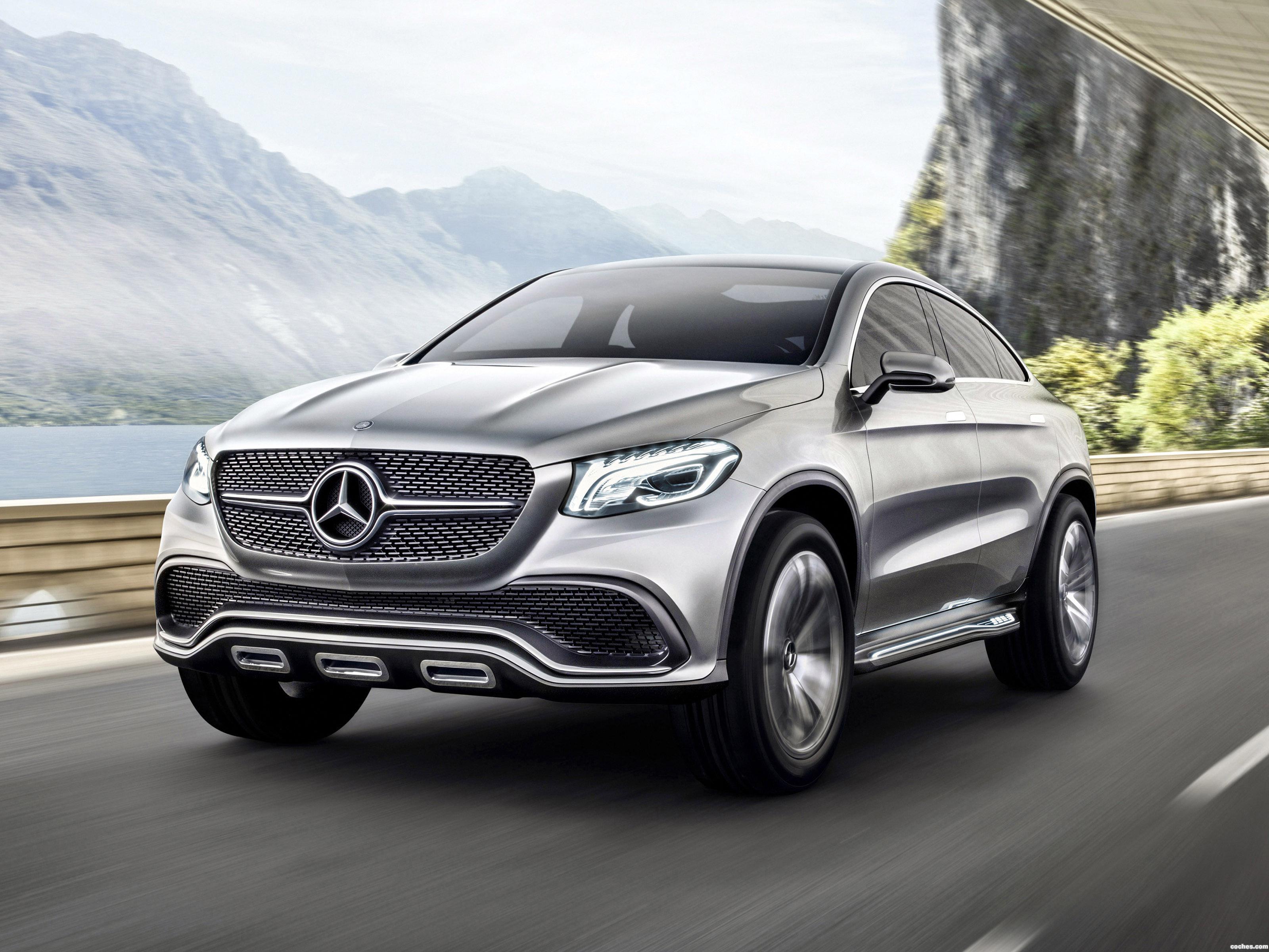 Foto 0 de Mercedes Concept Coupe SUV 2014