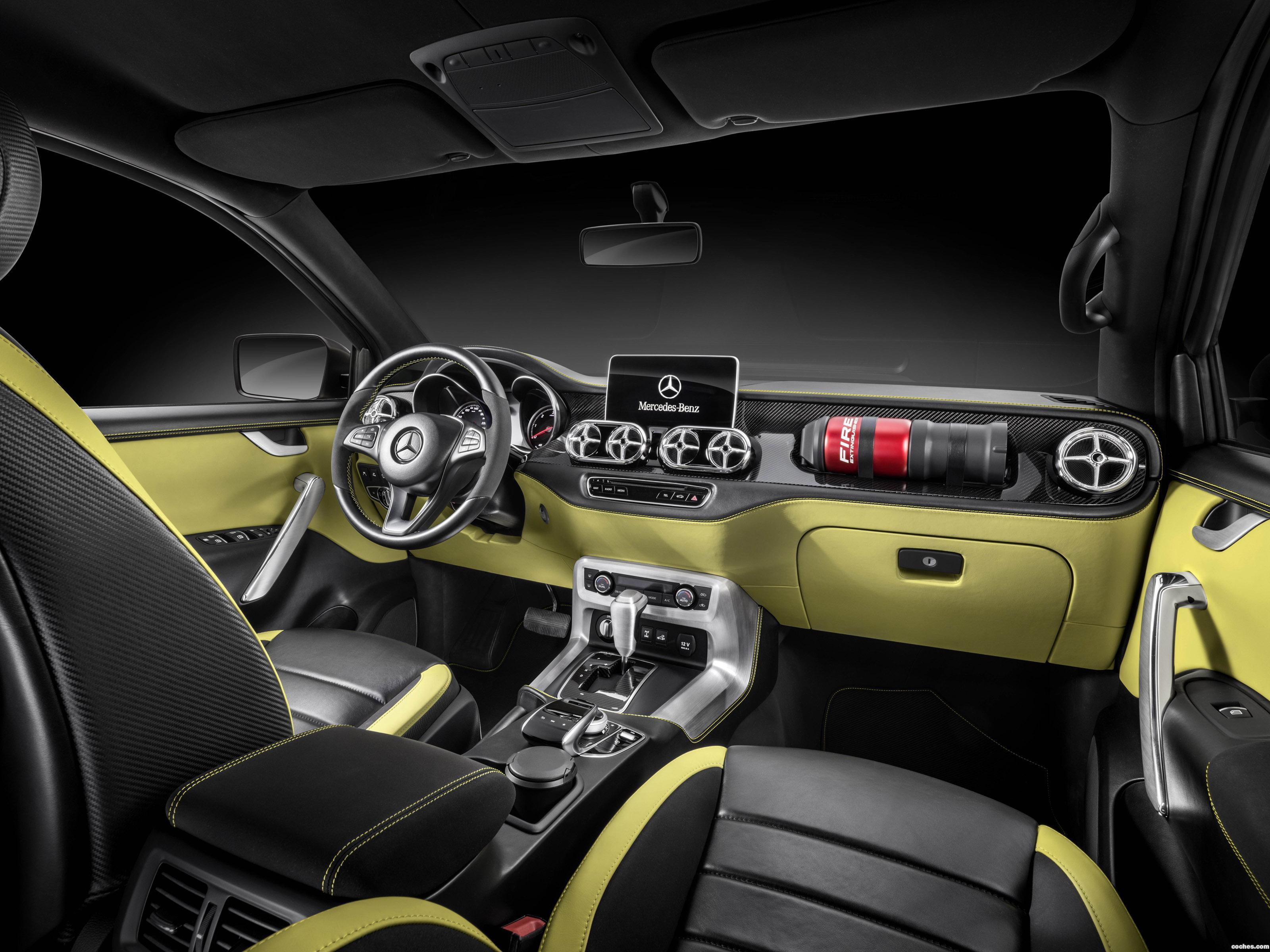 Foto 6 de Mercedes Concept Clase X Powerful Adventurer 2016