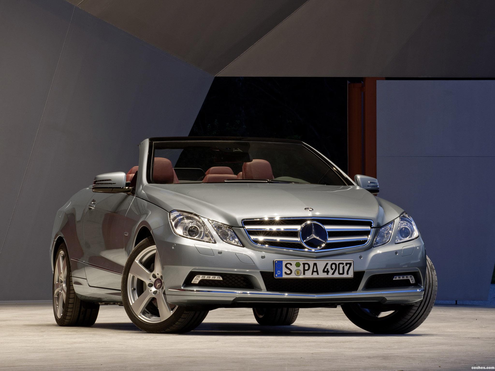 Foto 15 de Mercedes Clase E Cabrio A207 2009