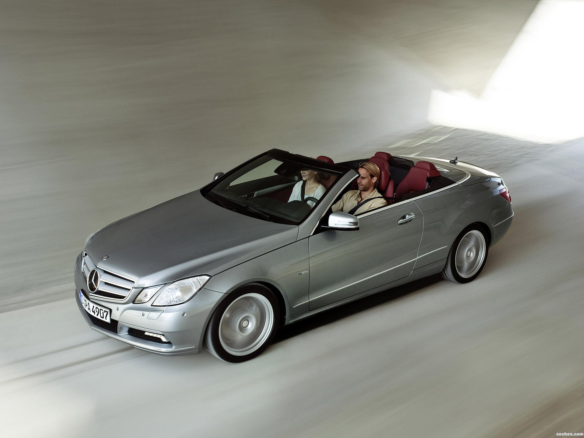 Foto 10 de Mercedes Clase E Cabrio A207 2009
