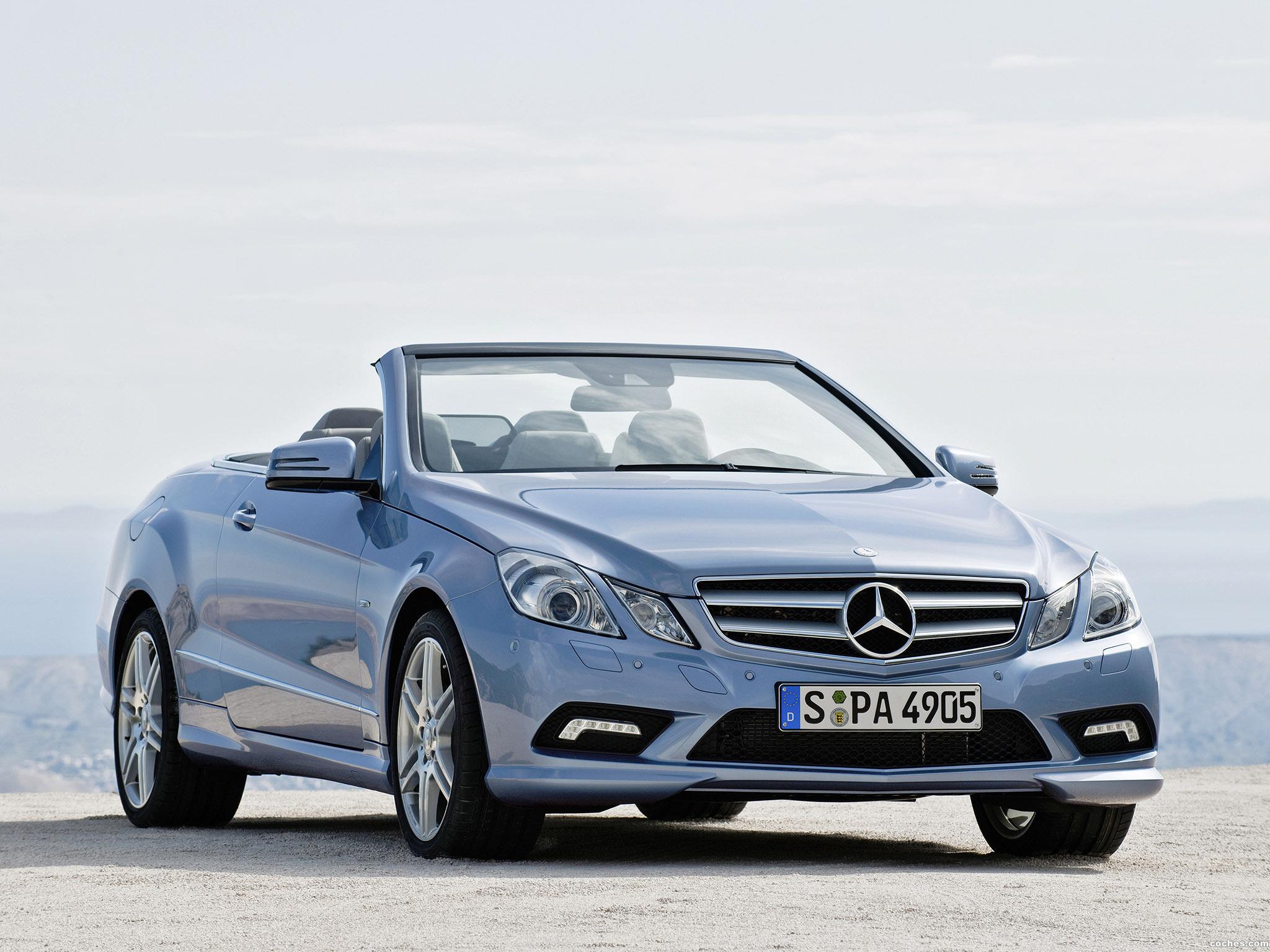 Foto 0 de Mercedes Clase E Cabrio A207 2009