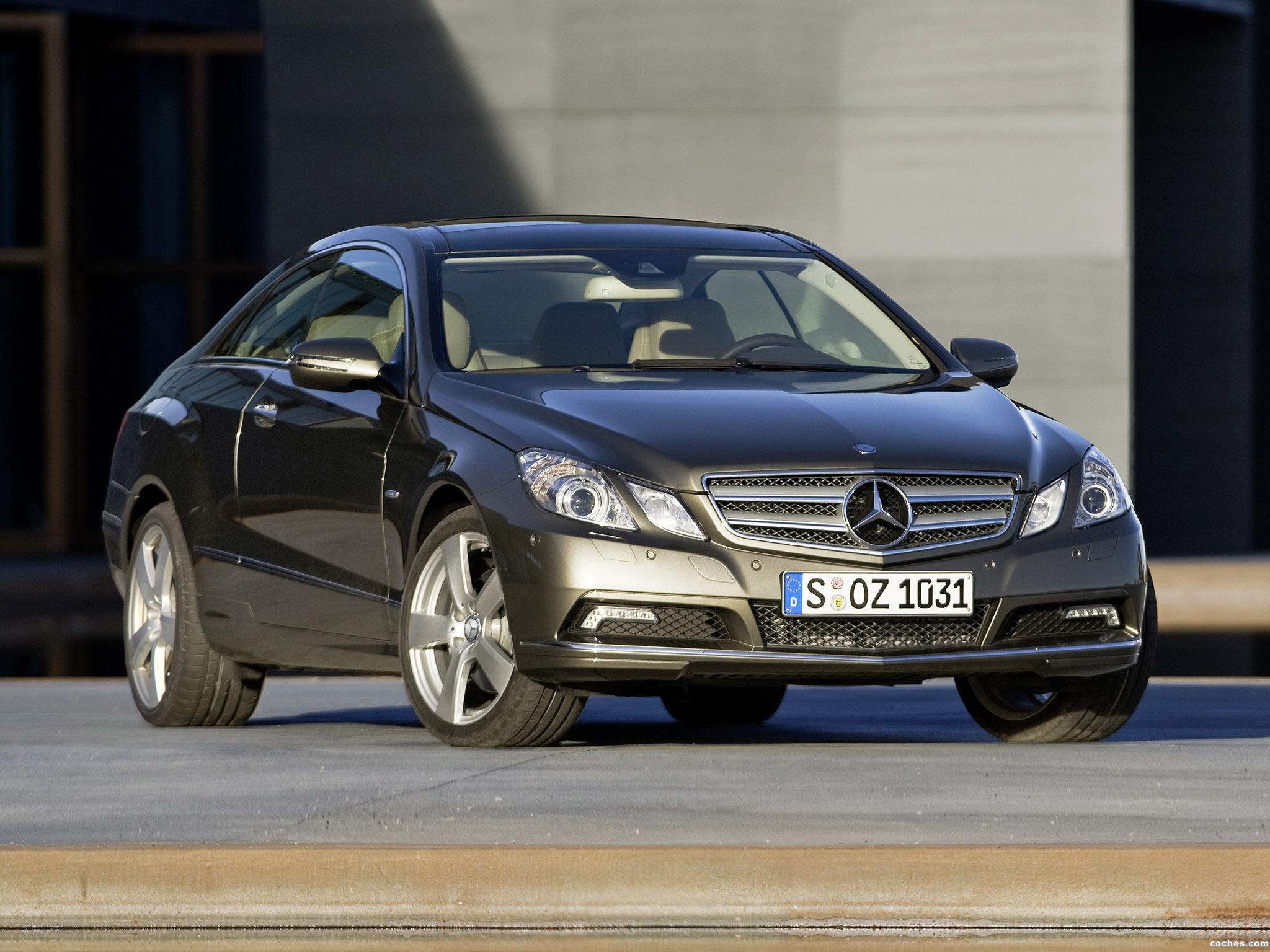 Foto 0 de Mercedes Clase E Coupe 2009