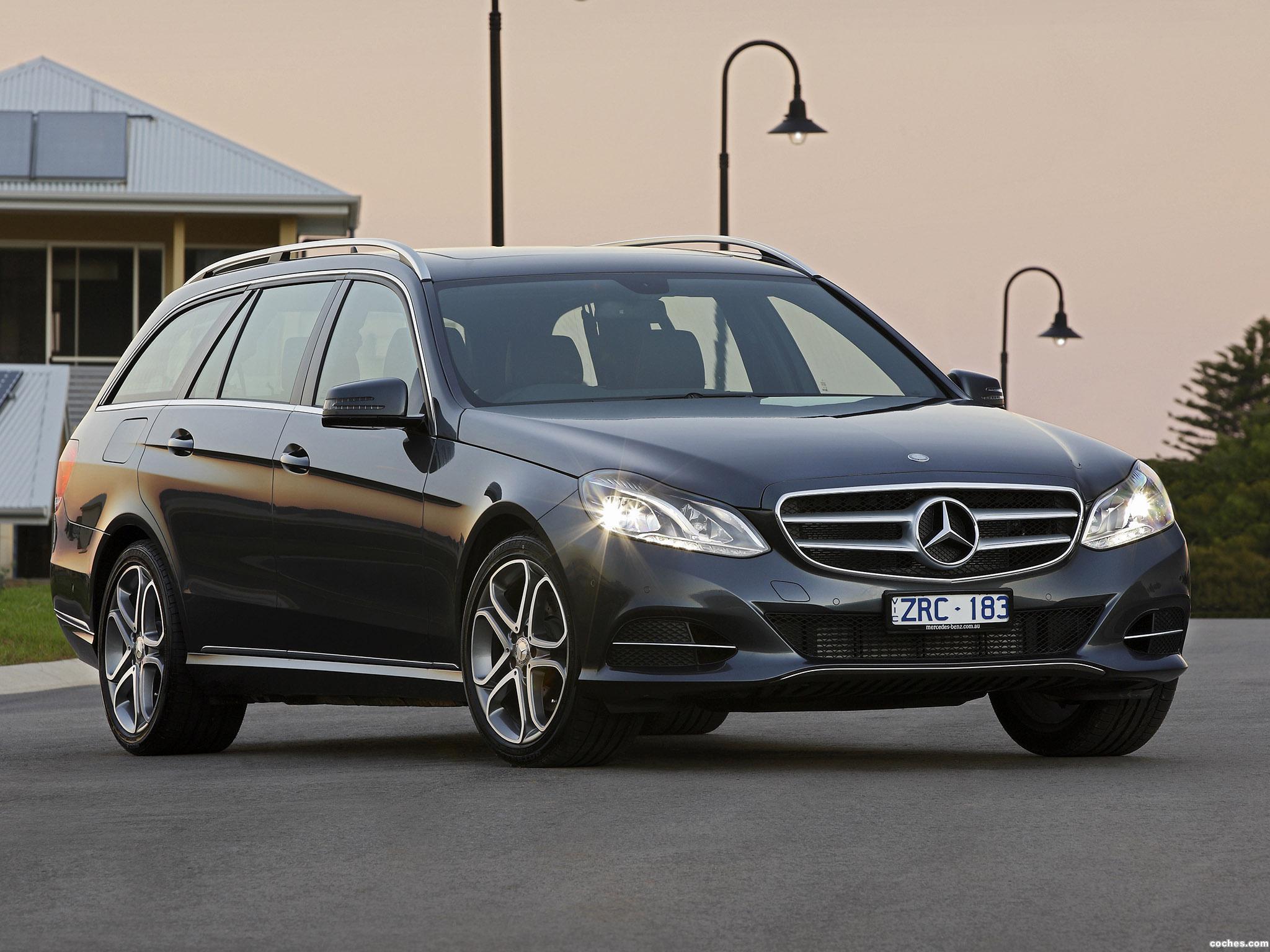 Foto 0 de Mercedes Clase E E200 Estate S212 Australia  2013