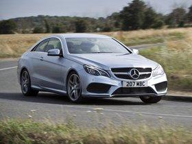 Fotos de Mercedes Clase E E220 CDI Coupe AMG Sports Package C207 UK 2013