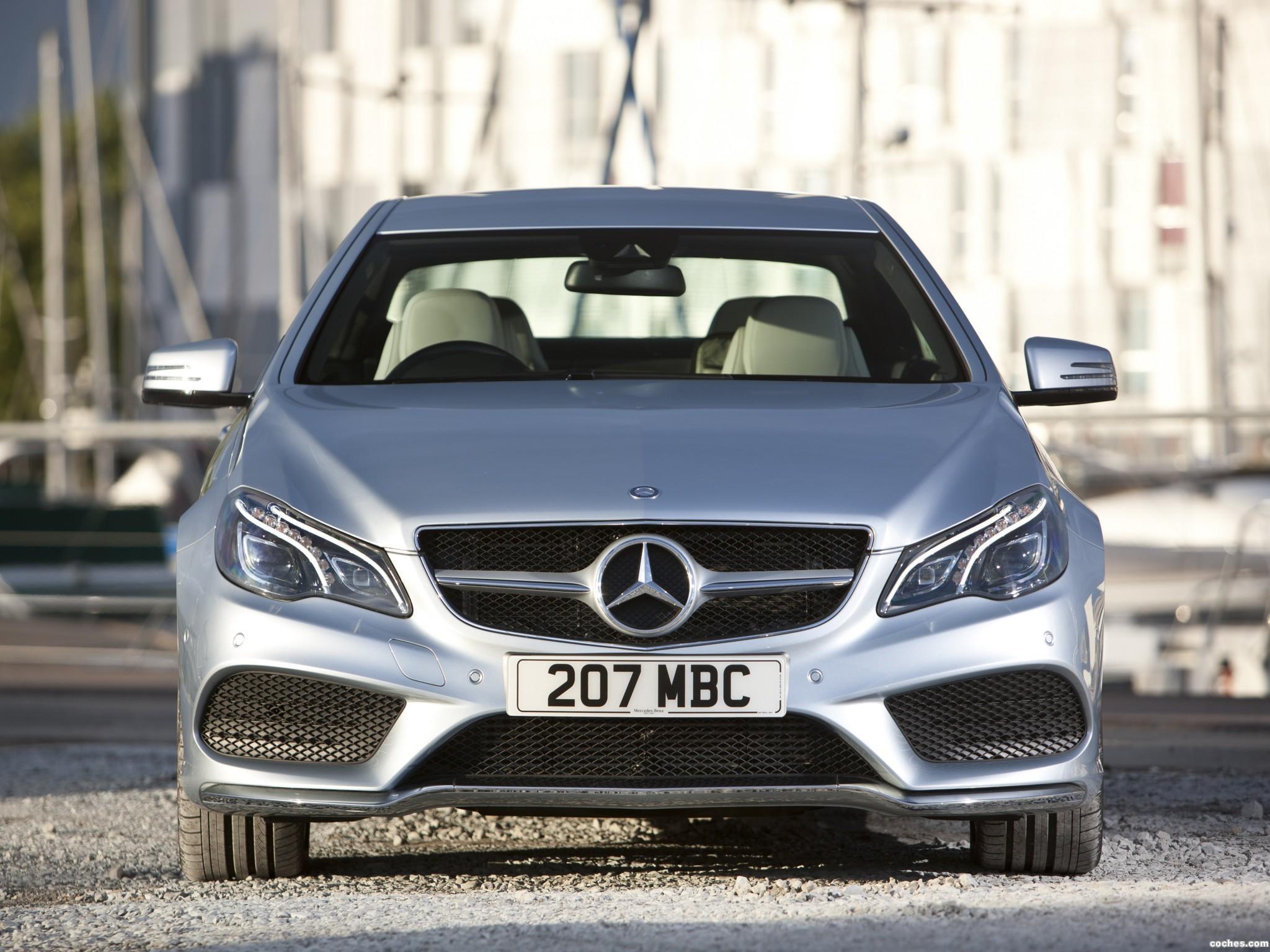 Foto 2 de Mercedes Clase E E220 CDI Coupe AMG Sports Package C207 UK 2013