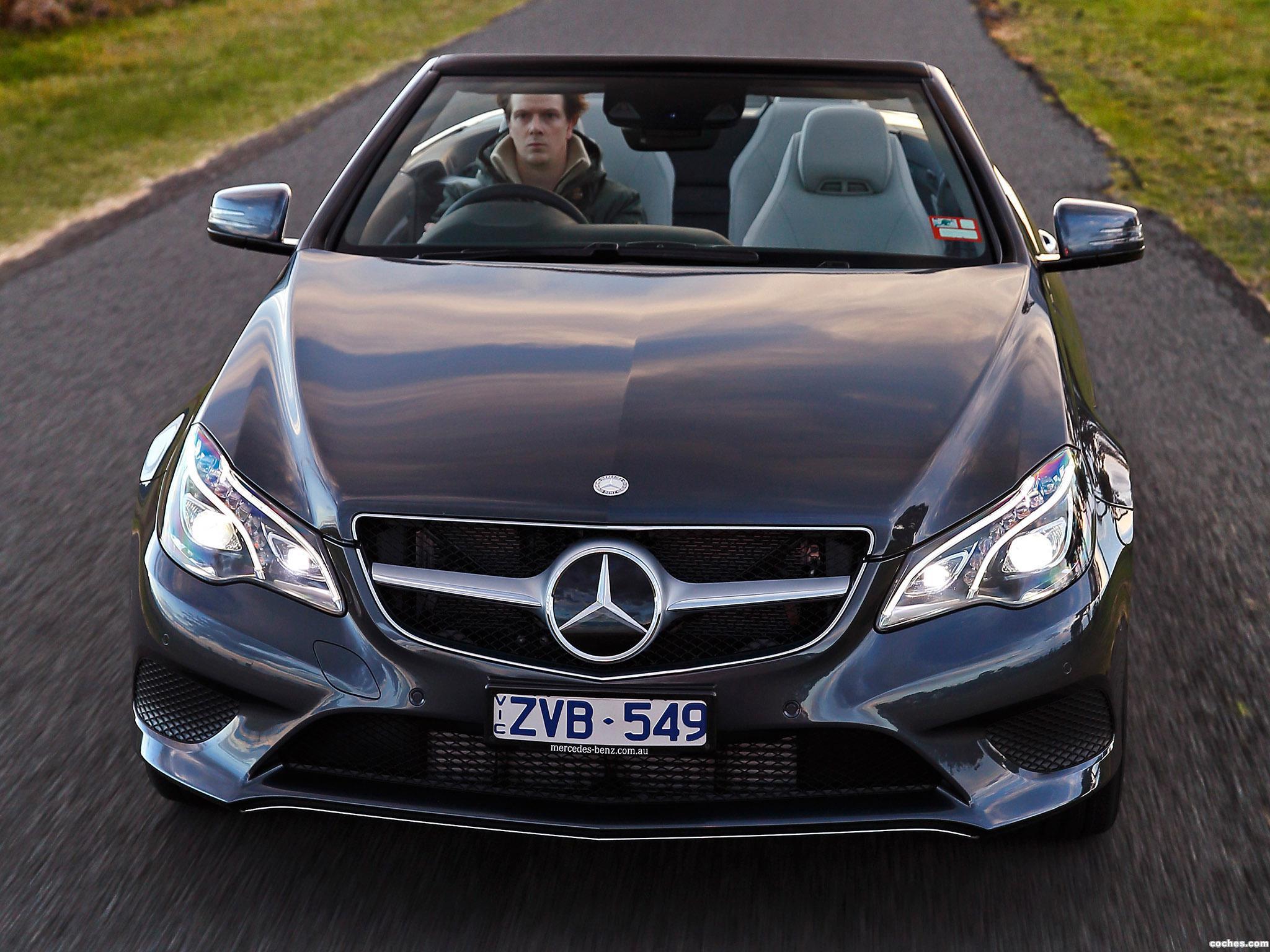 Foto 0 de Mercedes Clase E E250 Cabrio A207 Australia 2013