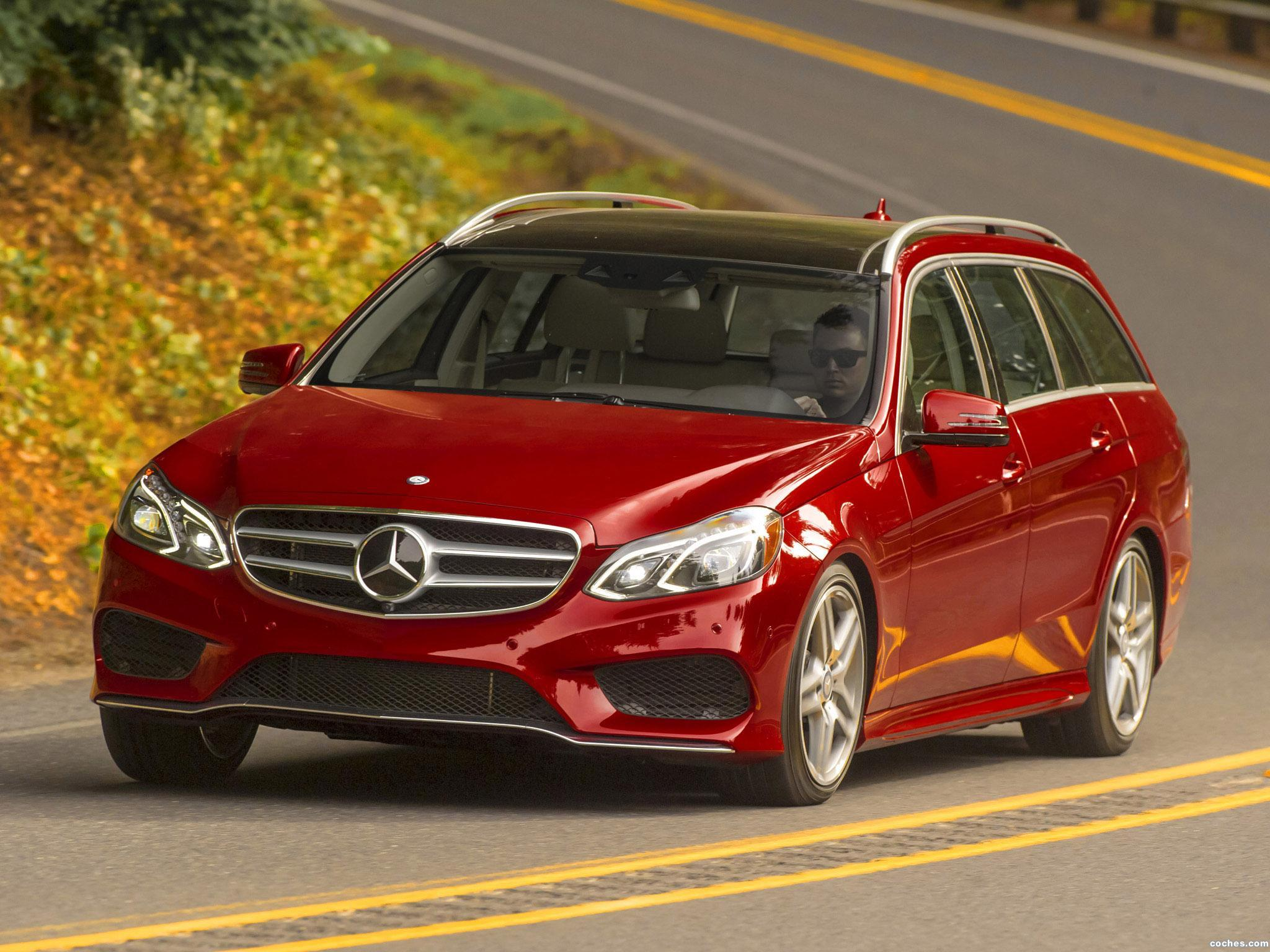Foto 0 de Mercedes Clase E Estate E350 4MATIC AMG Sports Package S212 USA 2013