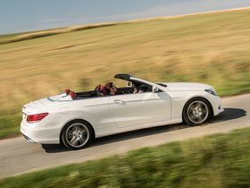 Ver foto 5 de Mercedes Clase E E350 BlueTec Cabrio AMG Sports Package A207 UK 2013