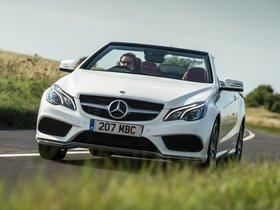 Ver foto 3 de Mercedes Clase E E350 BlueTec Cabrio AMG Sports Package A207 UK 2013