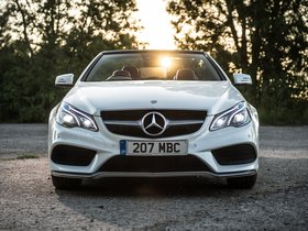 Ver foto 1 de Mercedes Clase E E350 BlueTec Cabrio AMG Sports Package A207 UK 2013