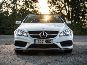 Fotos de Mercedes Clase E E350 BlueTec Cabrio AMG Sports Package A207 UK 2013