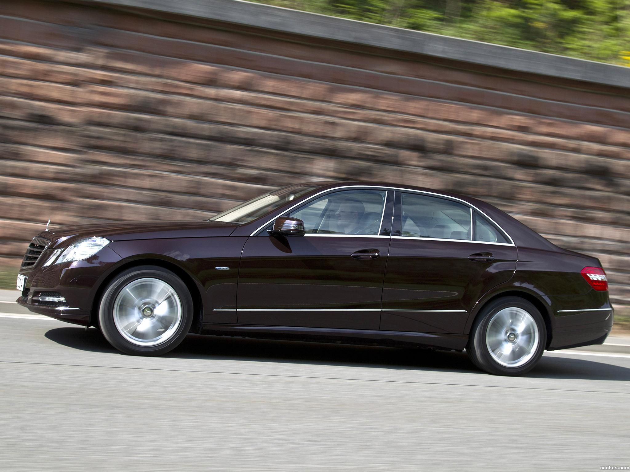 Foto 4 de Mercedes Clase E E350 CGi BlueEFFICIENCY 2011