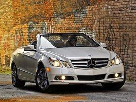 Fotos de Mercedes Clase E Cabrio E350 USA A207 2010