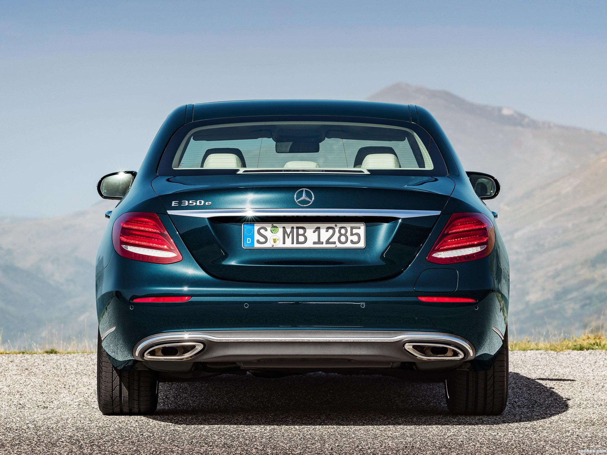 Foto 9 de Mercedes Clase E E350 Exclusive Line W213 2016