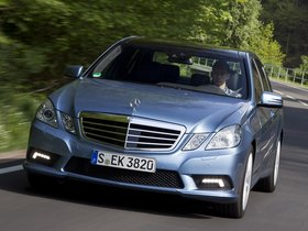 Ver foto 3 de Mercedes Clase E E500 BlueEFFICIENCY 2011