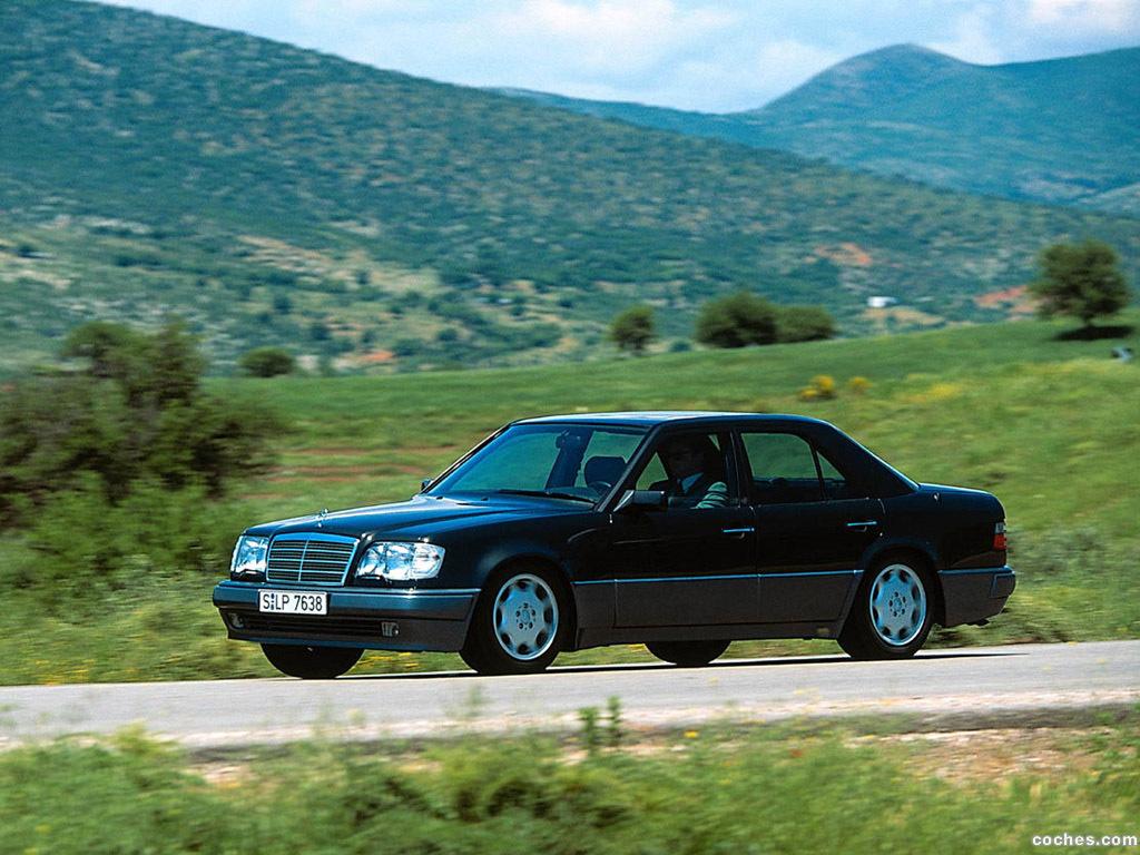Foto 3 de Mercedes Clase E E500 W124 1993