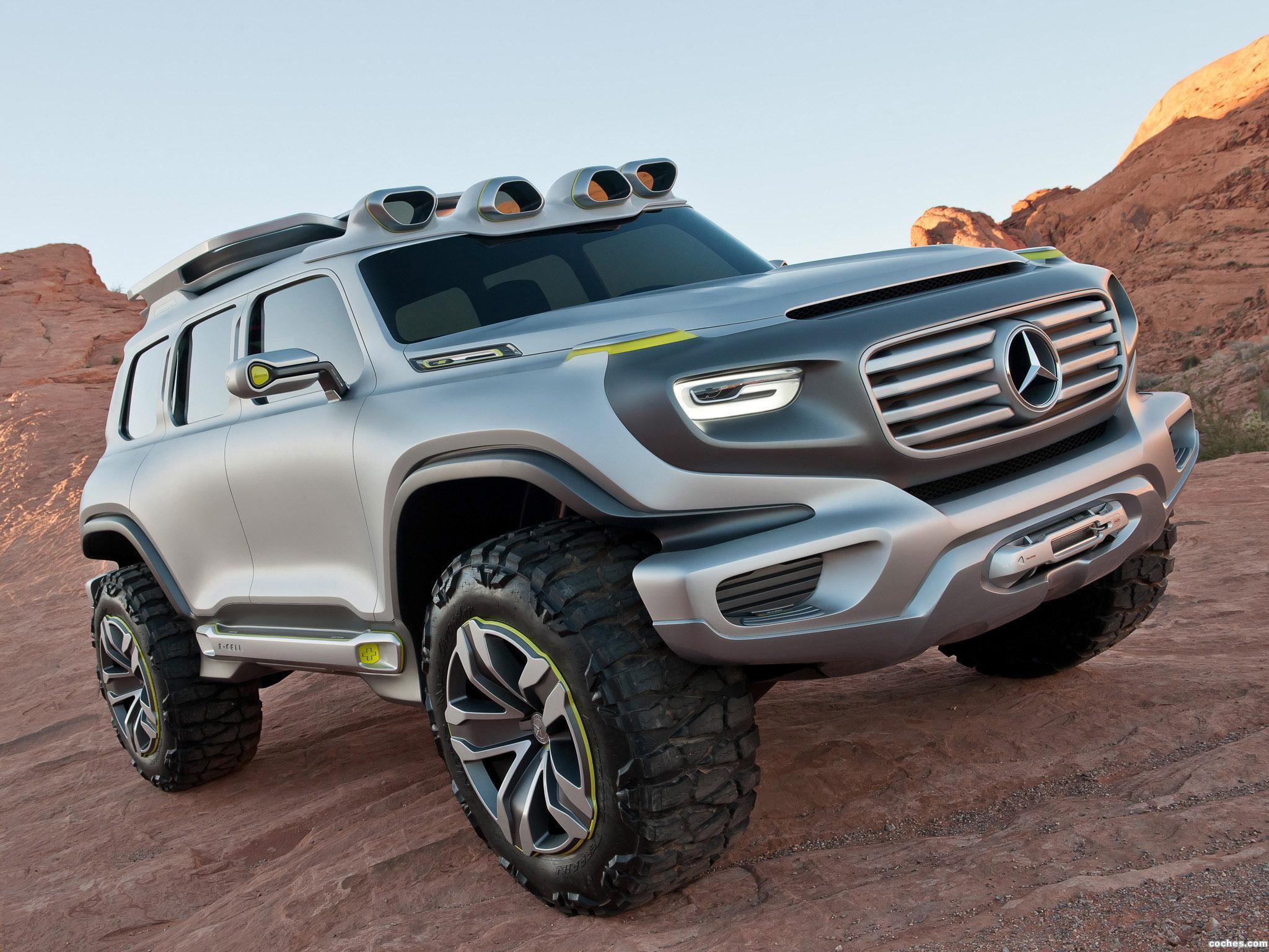 Foto 0 de Mercedes Ener-G Force Concept 2012