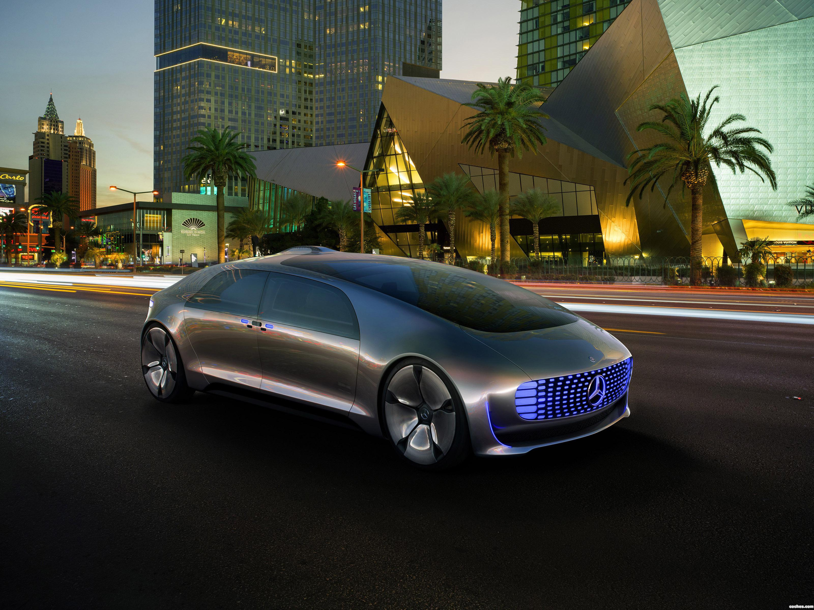 Foto 0 de Mercedes F 015 Luxury In Motion 2015