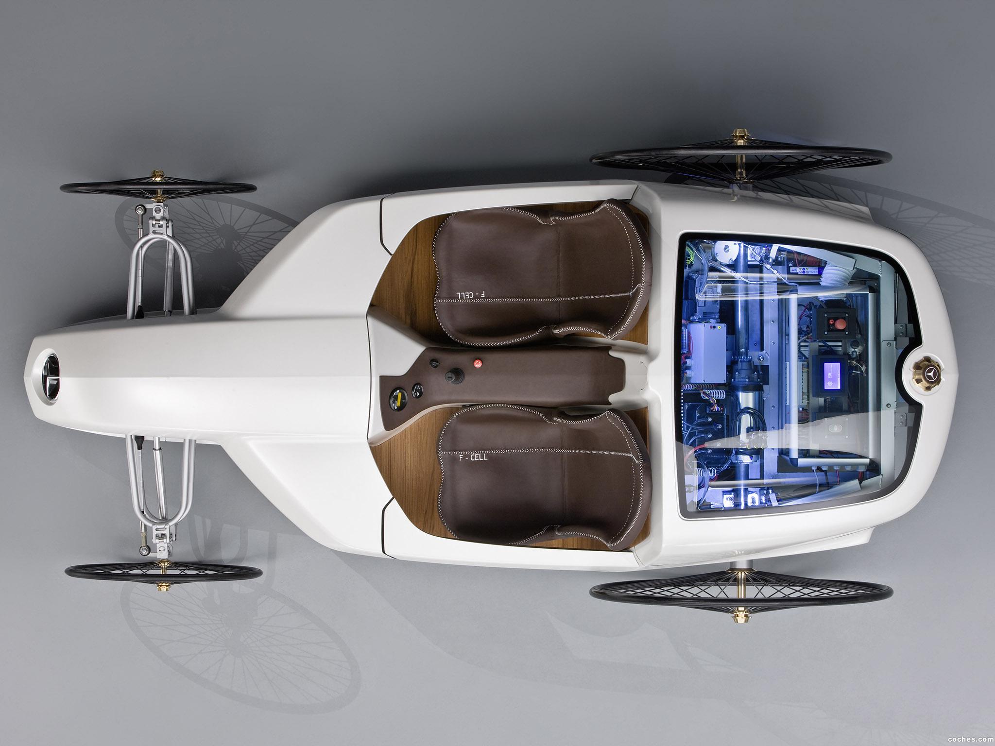 Foto 1 de Mercedes F-CELL Roadster Concept 2009