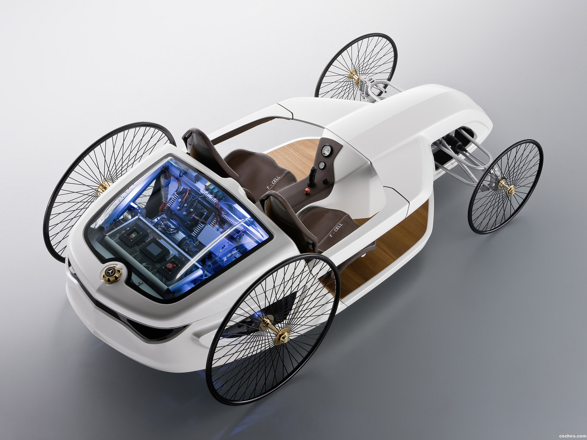 Foto 6 de Mercedes F-CELL Roadster Concept 2009
