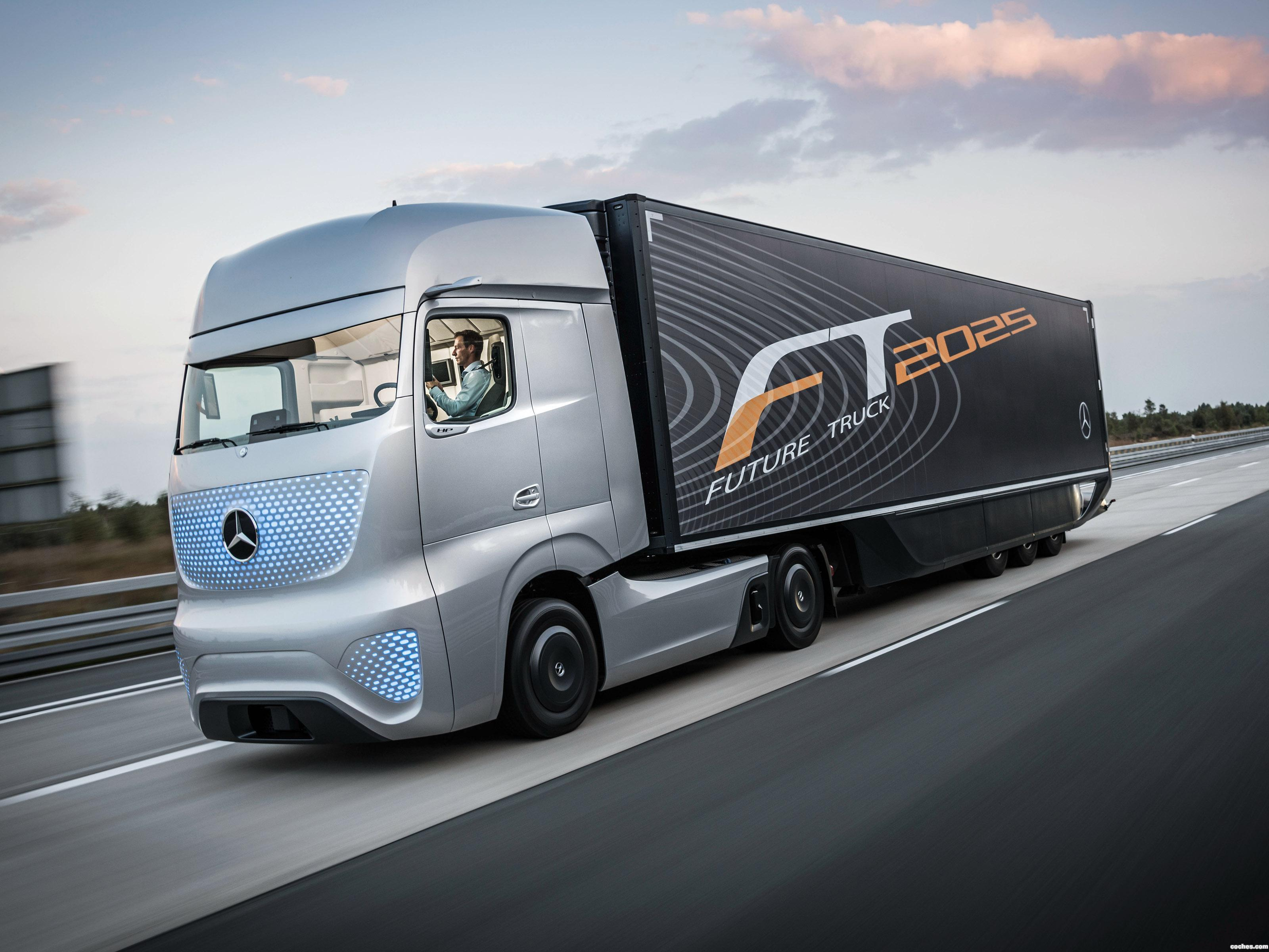 Foto 0 de Mercedes Future Truck 2025 2014