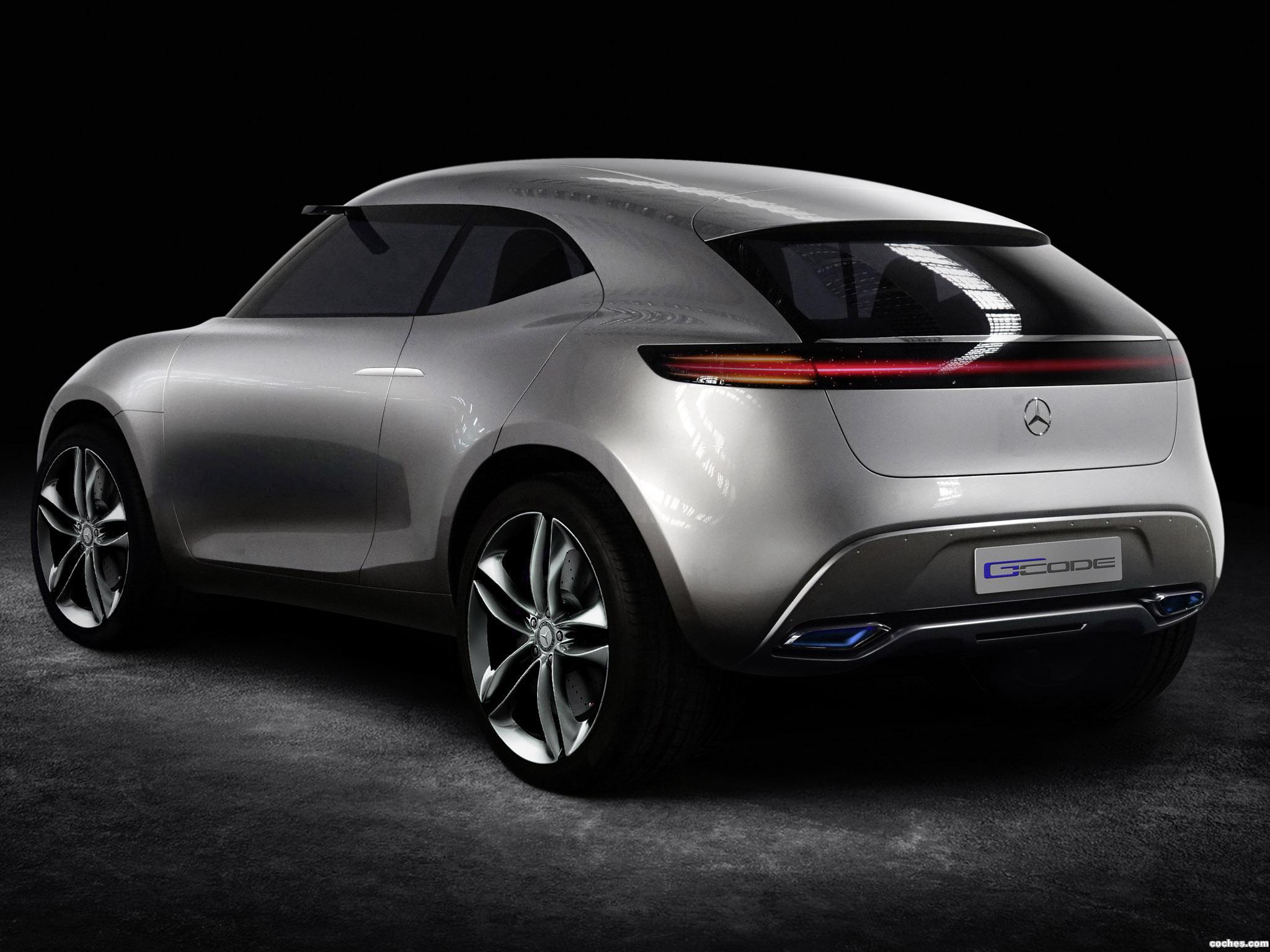 Foto 5 de Mercedes G-Code Concept 2014
