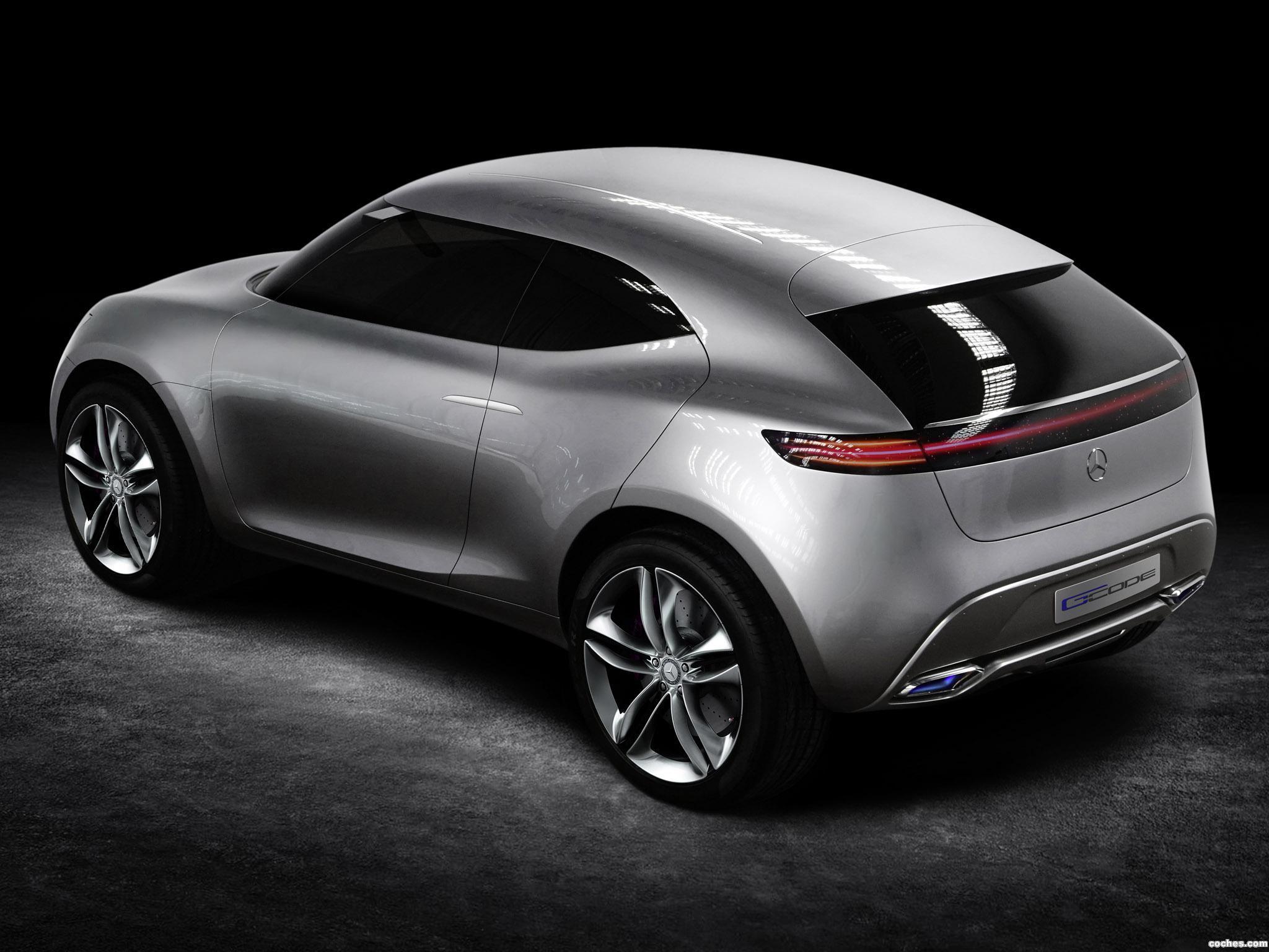 Foto 4 de Mercedes G-Code Concept 2014