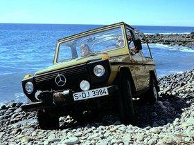 Fotos de Mercedes Clase G 230 Cabrio W460 1979