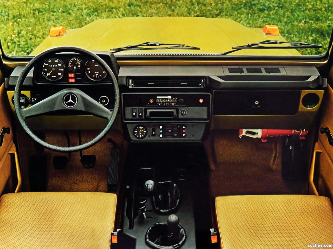 Foto 6 de Mercedes Clase G 230 Cabrio W460 1979