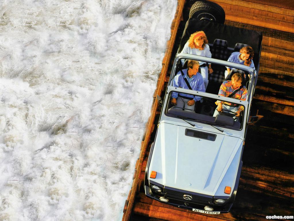 Foto 3 de Mercedes Clase G 230 Cabrio W460 1979
