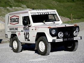 Fotos de Mercedes Clase G 280 GE Paris Dakar W460 1983