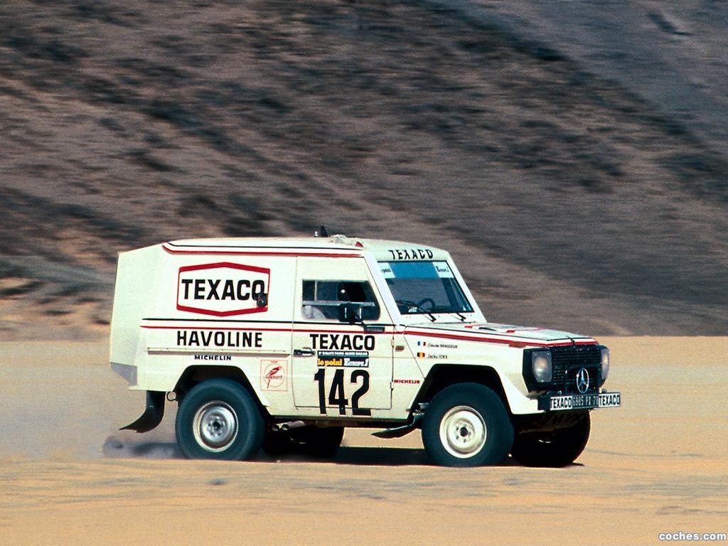 Foto 1 de Mercedes Clase G 280 GE Paris Dakar W460 1983