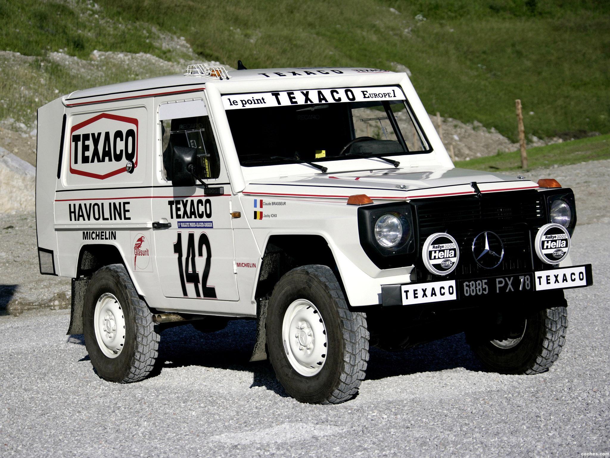 Foto 0 de Mercedes Clase G 280 GE Paris Dakar W460 1983
