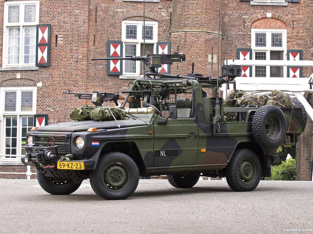 Foto 0 de Mercedes Clase G 4x4 Militar W461 1992