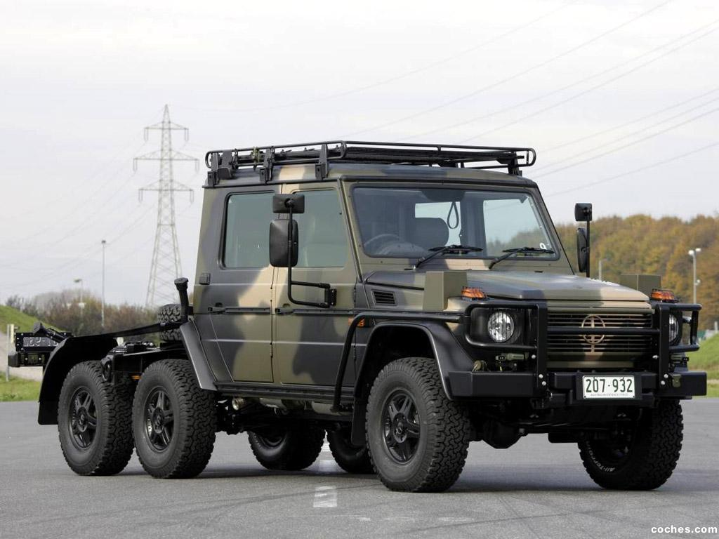 Foto 0 de Mercedes Clase G 6x6 Military W461 2012