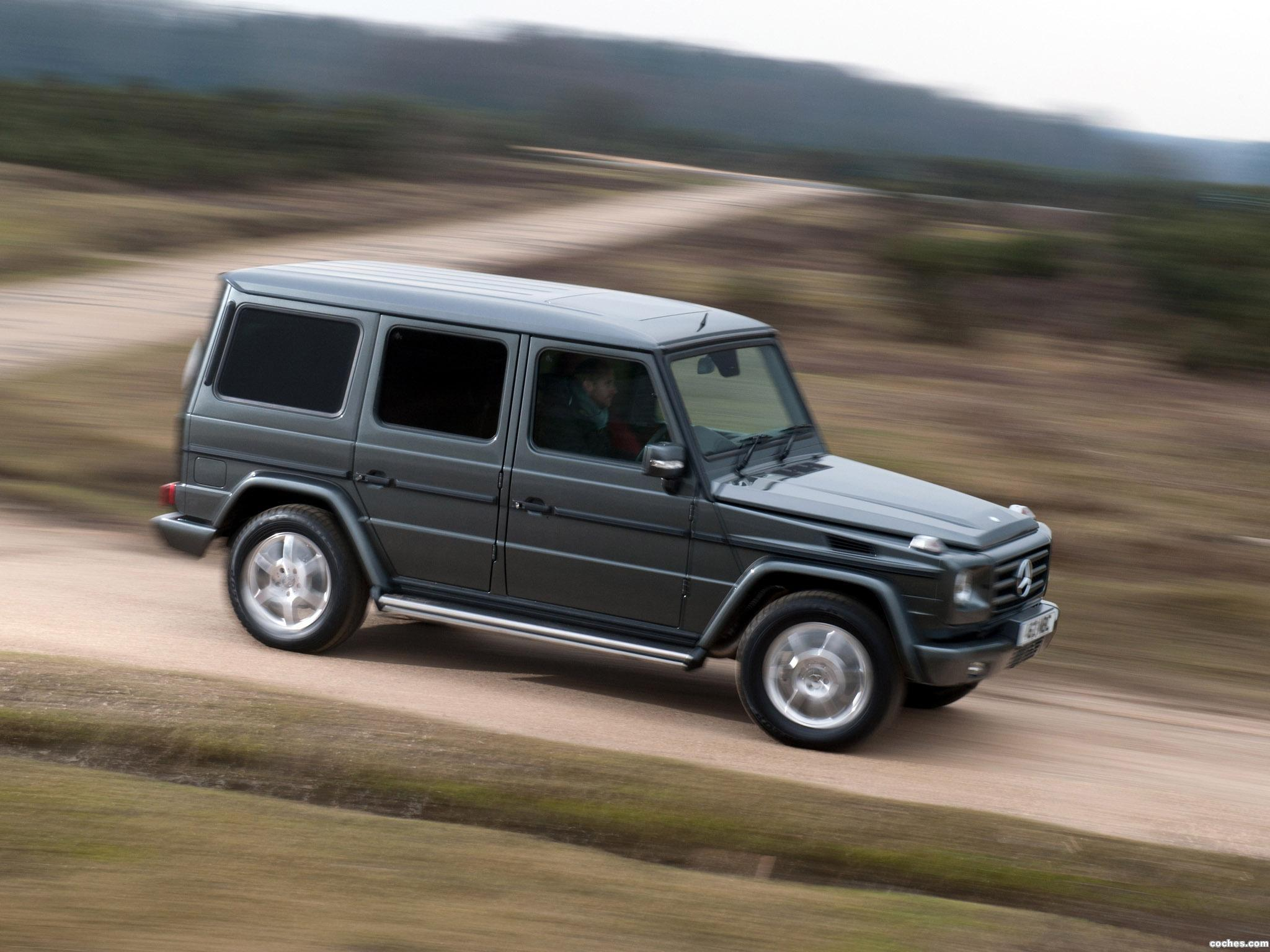 Foto 14 de Mercedes Clase G G350 BlueTEC W463 UK 2011