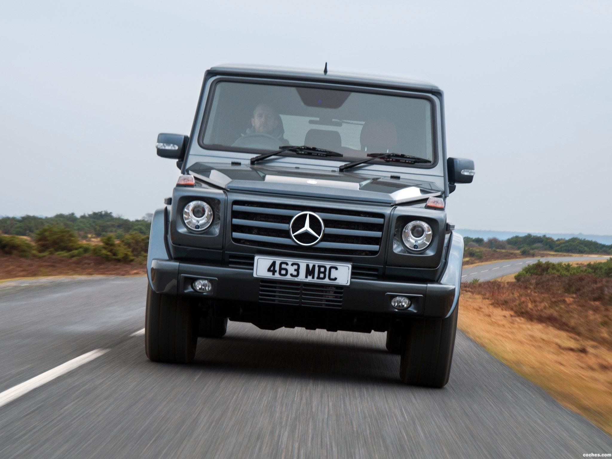 Foto 13 de Mercedes Clase G G350 BlueTEC W463 UK 2011