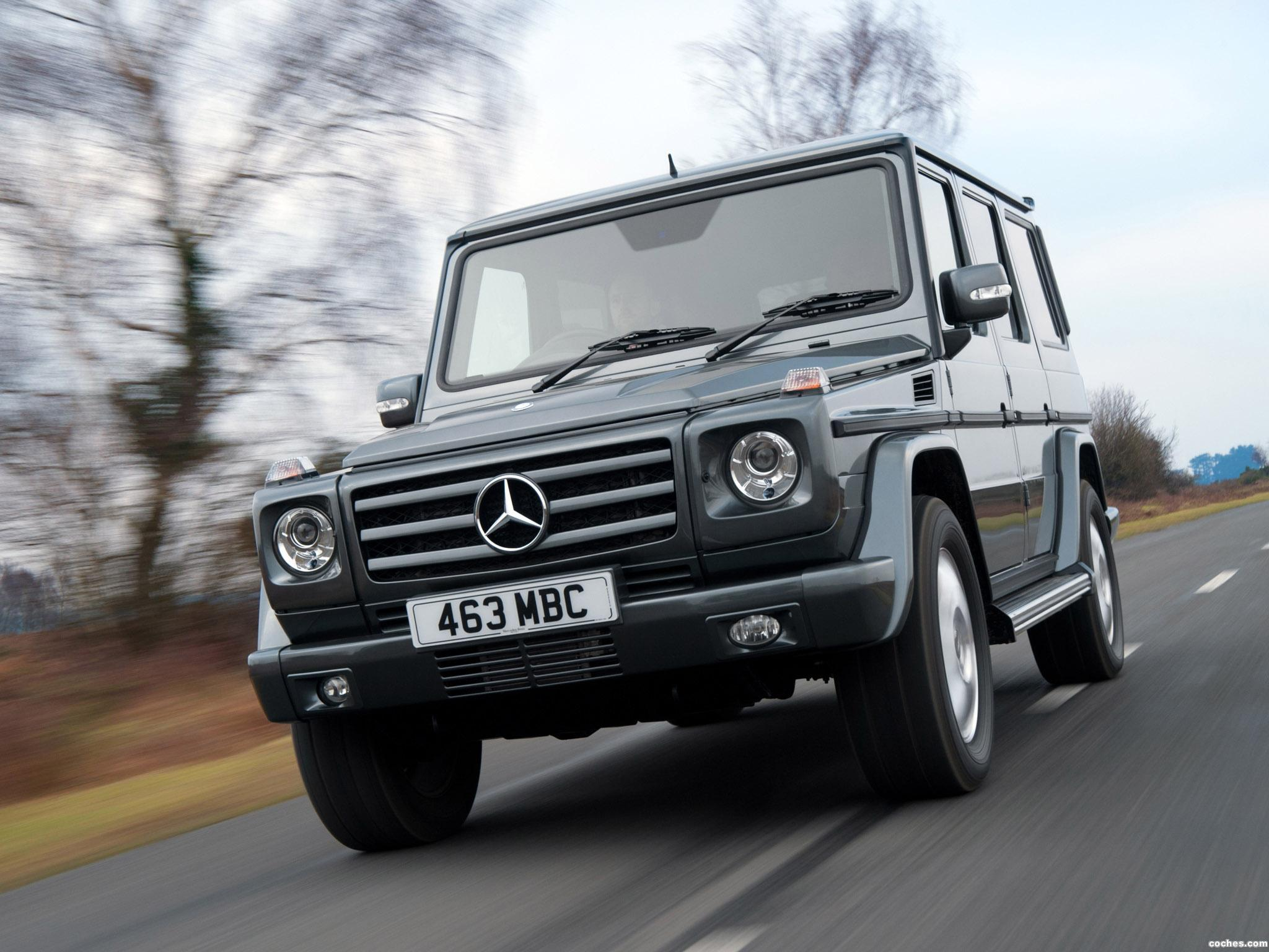Foto 12 de Mercedes Clase G G350 BlueTEC W463 UK 2011