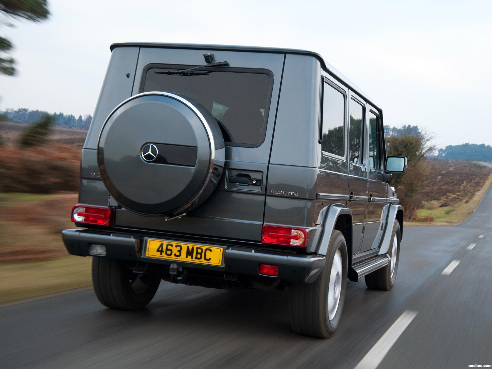 Foto 7 de Mercedes Clase G G350 BlueTEC W463 UK 2011
