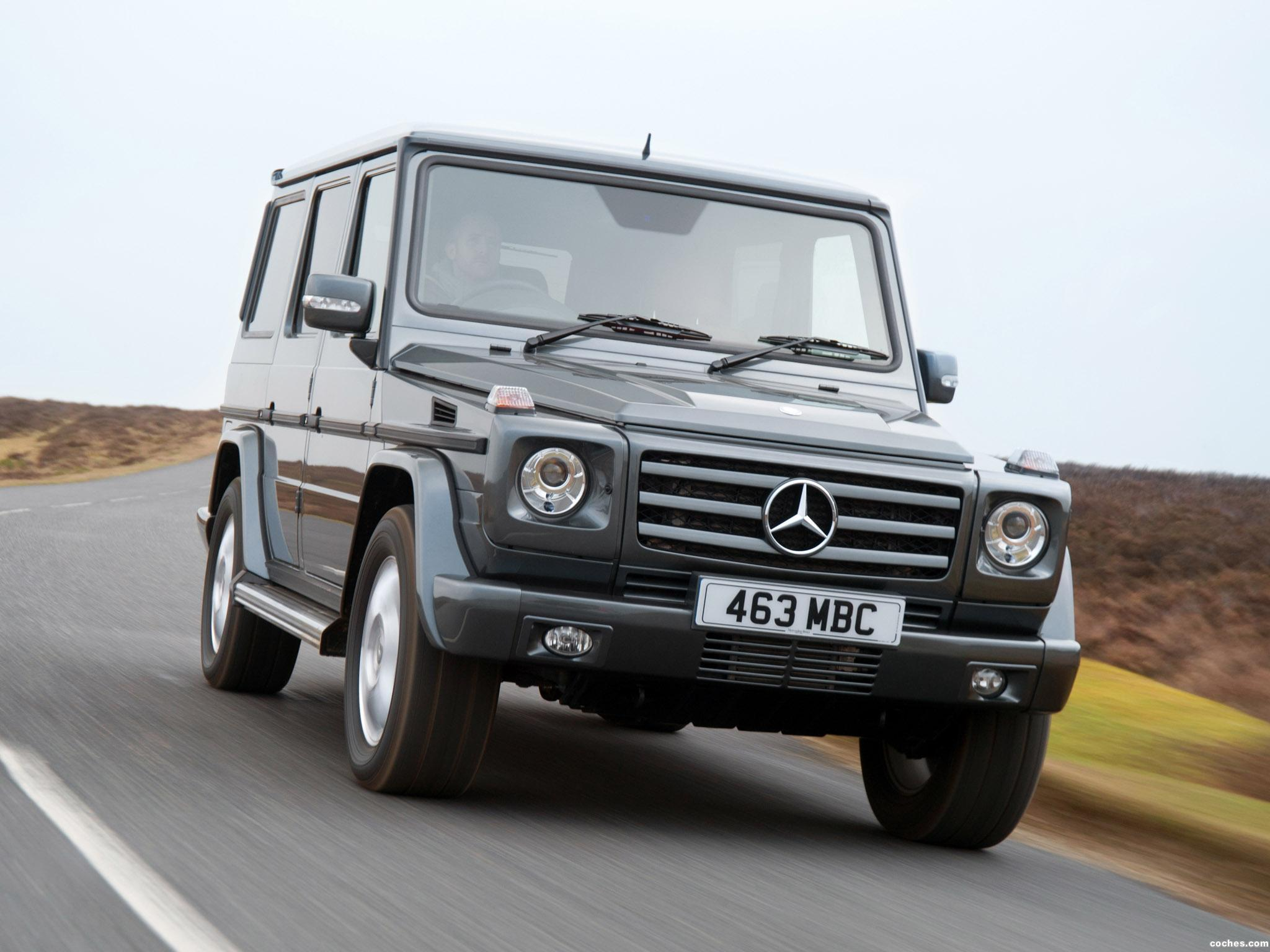 Foto 6 de Mercedes Clase G G350 BlueTEC W463 UK 2011