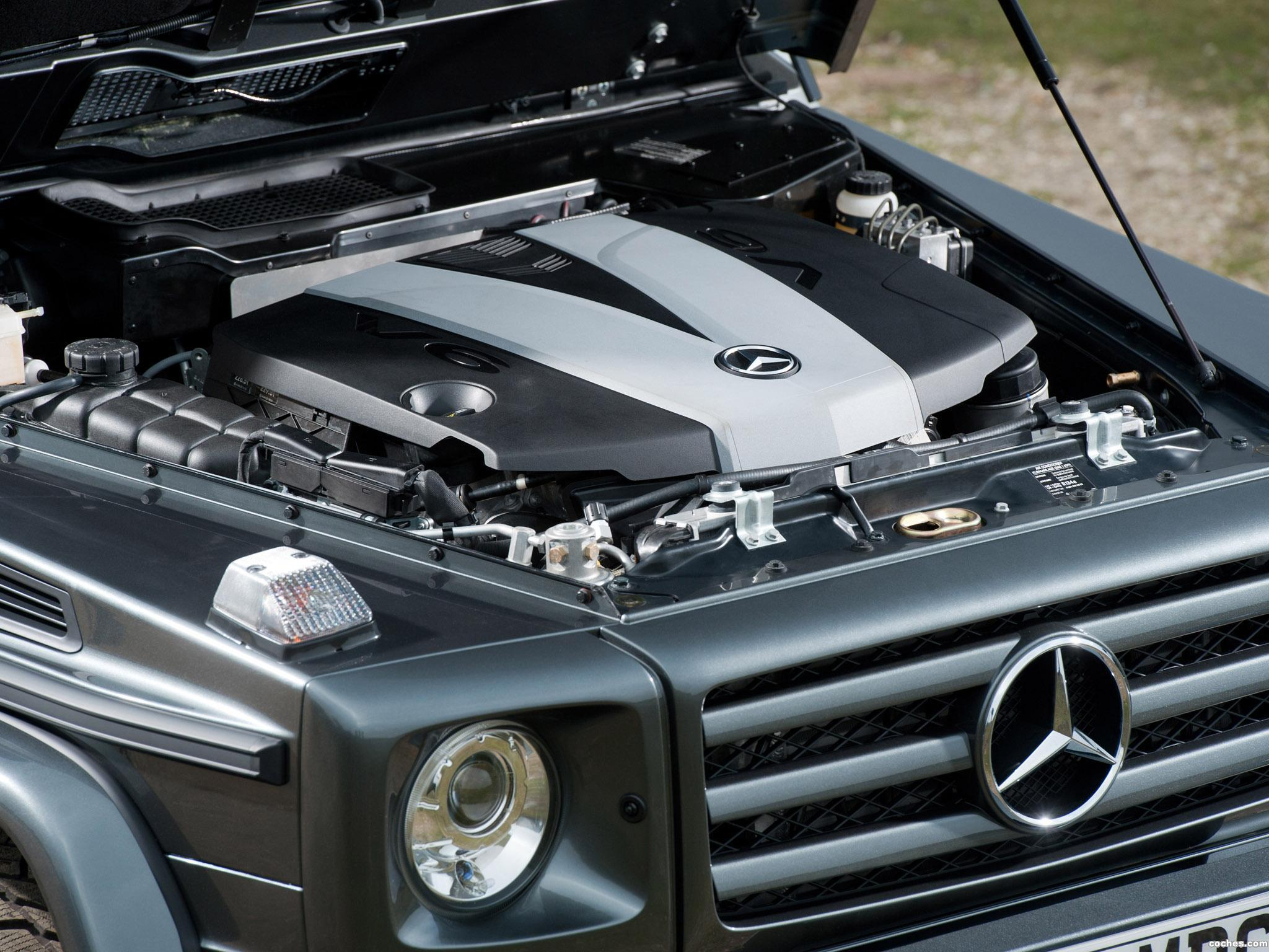 Foto 20 de Mercedes Clase G G350 BlueTEC W463 UK 2011