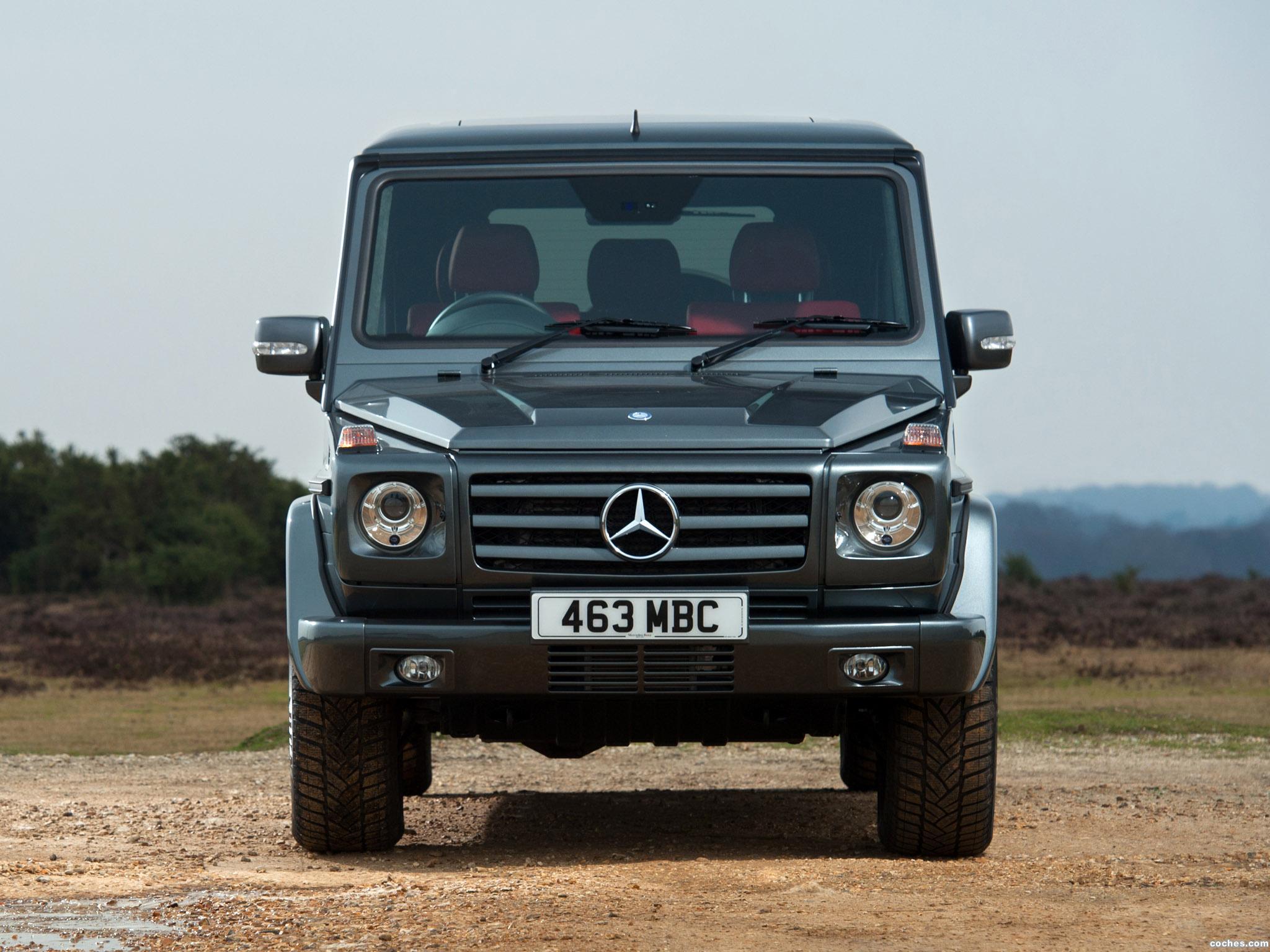 Foto 17 de Mercedes Clase G G350 BlueTEC W463 UK 2011