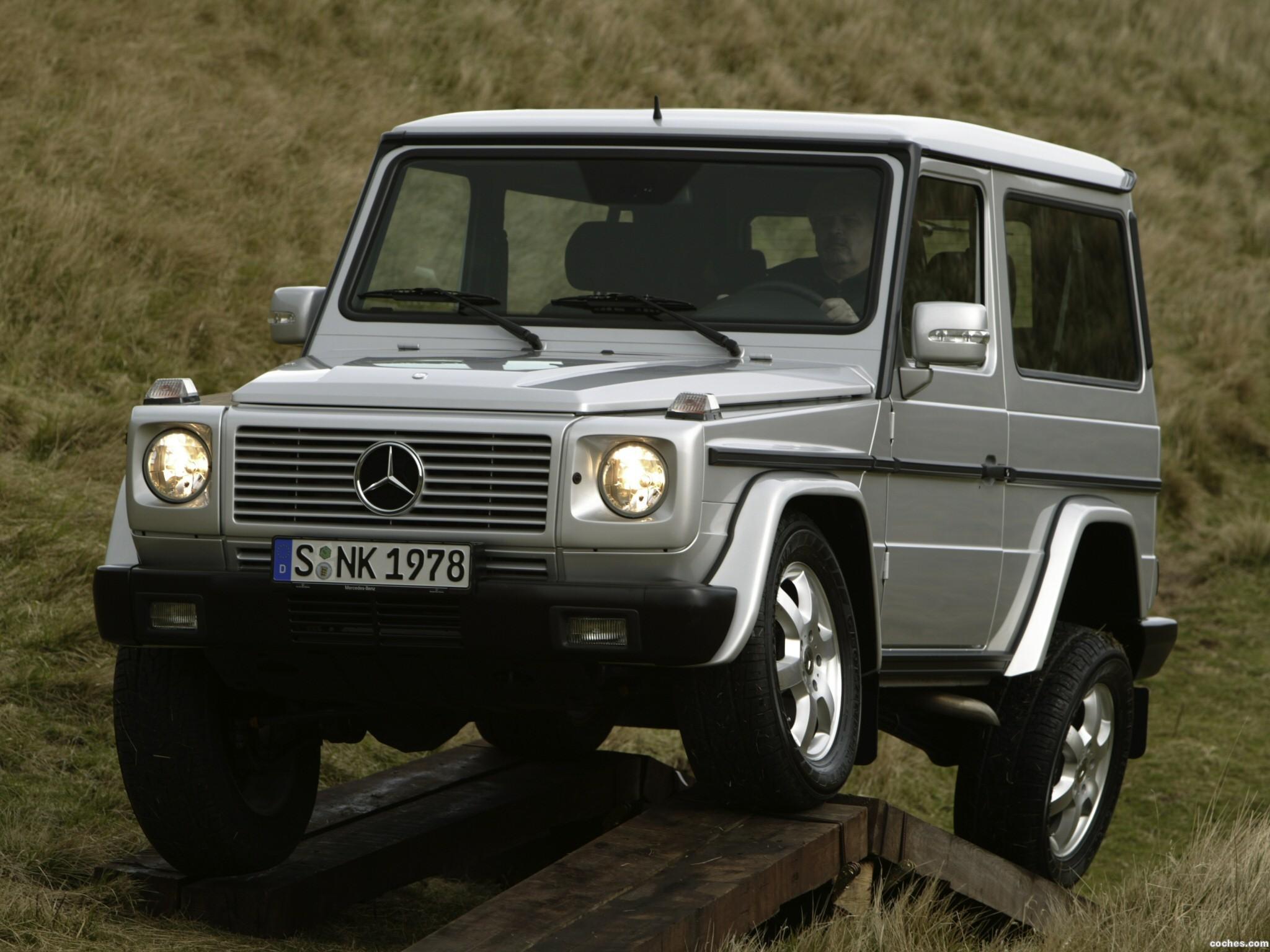 Foto 2 de Mercedes Clase G Short 2001
