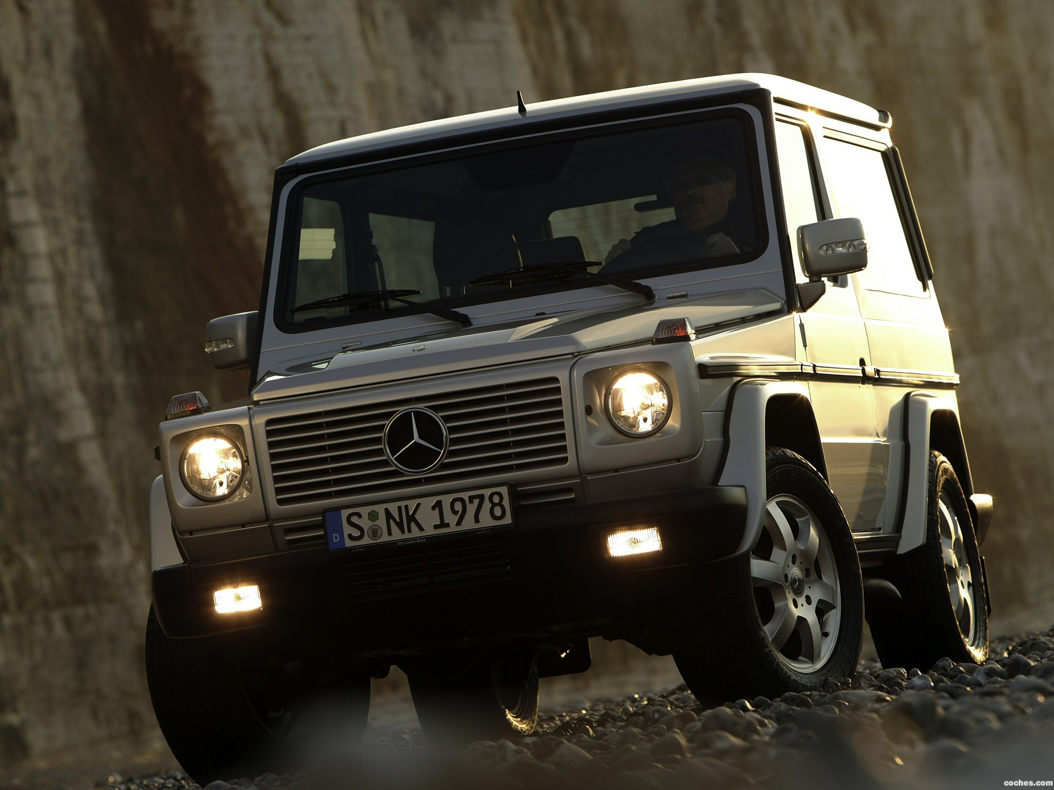 Foto 0 de Mercedes Clase G Short 2001