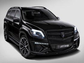 Ver foto 1 de Mercedes Clase GL Black Crystal Larte Design 2014
