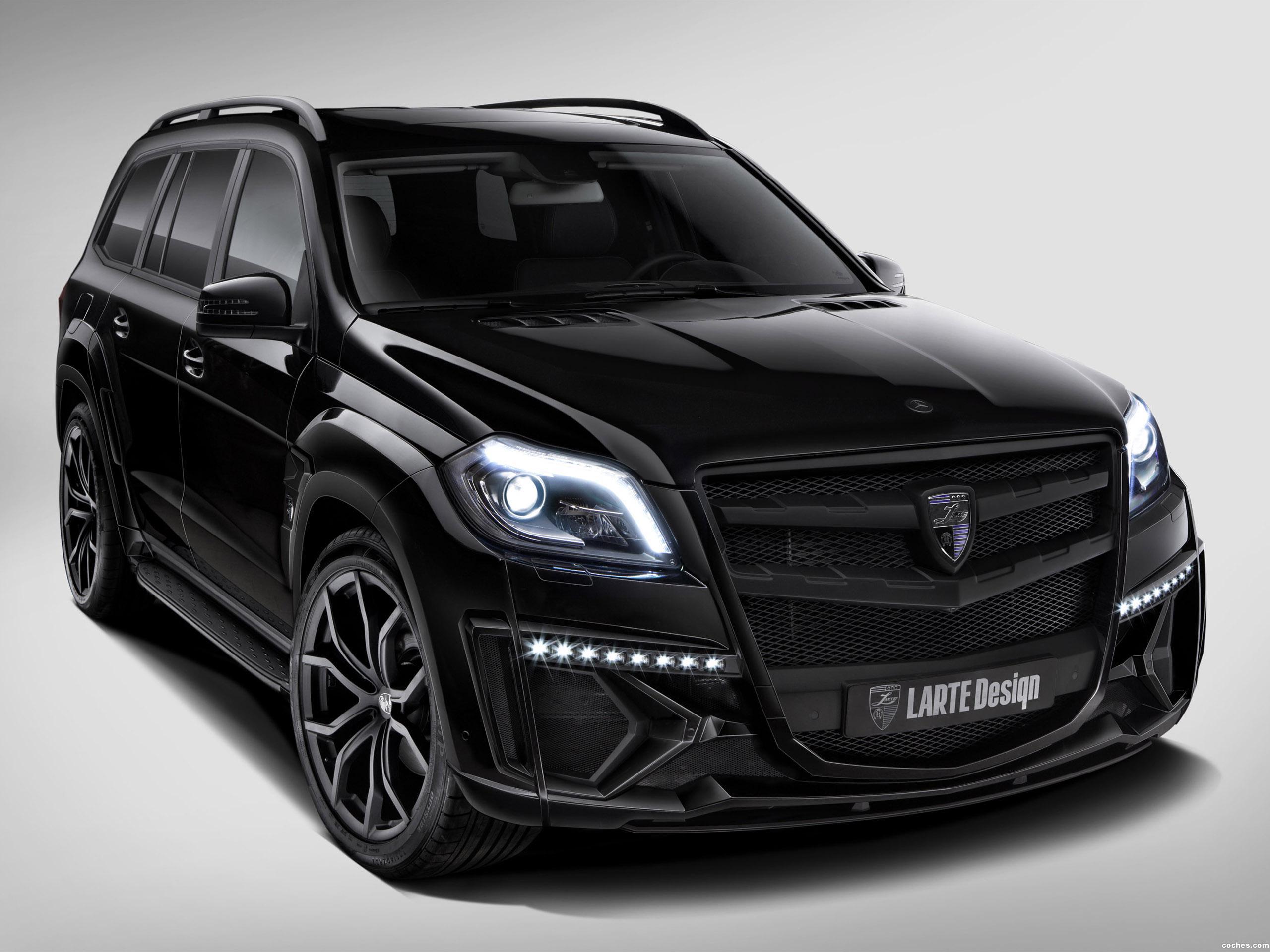 Foto 0 de Mercedes Clase GL Black Crystal Larte Design 2014