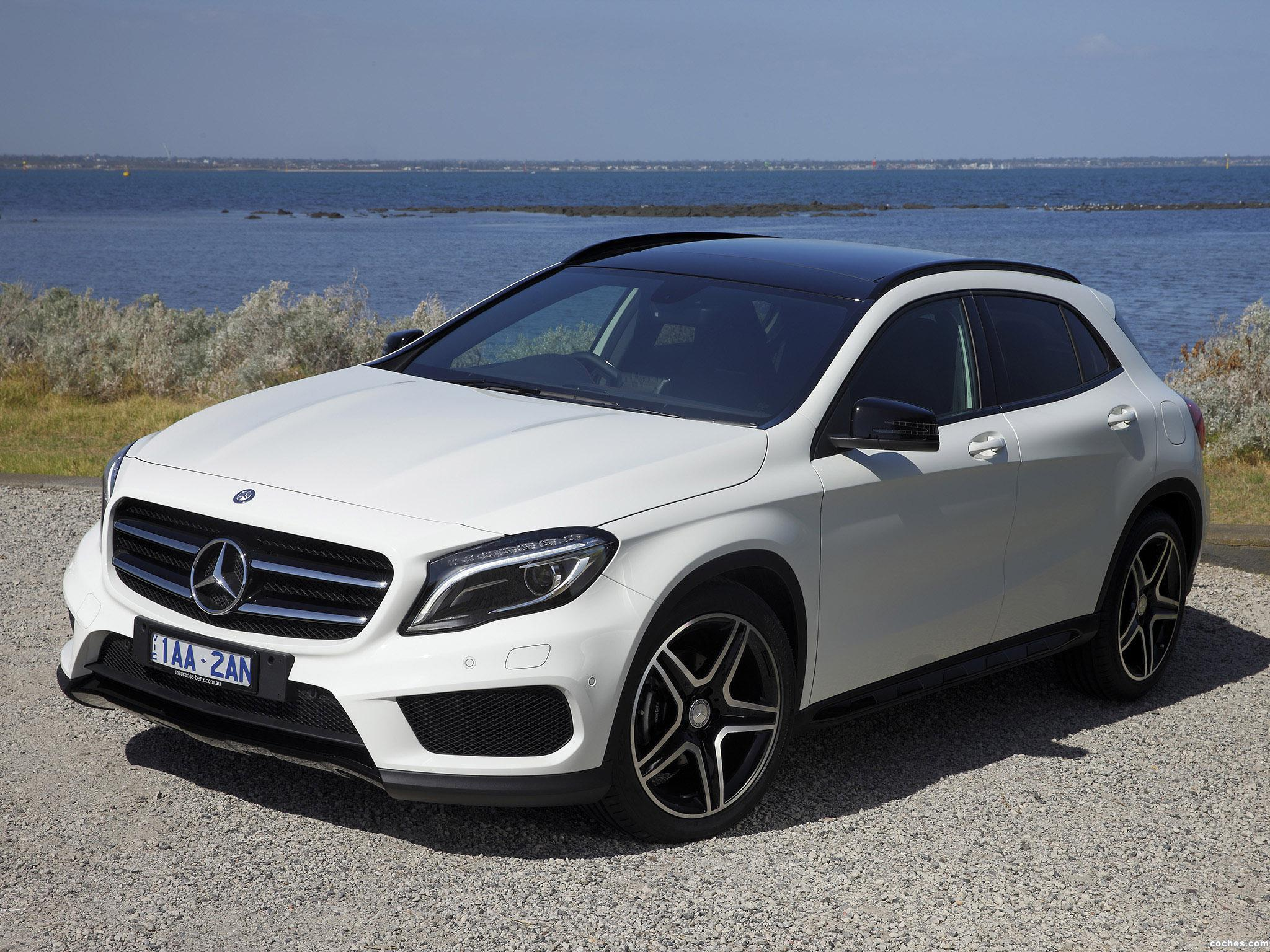 fotos de mercedes clase gla 200 cdi amg sport package x156. Black Bedroom Furniture Sets. Home Design Ideas